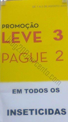 Avistamento CONTINENTE Leve 3 Pague 2 - Insecticidas