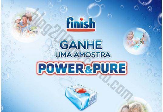 Nova amostra FINISH Power & Pure