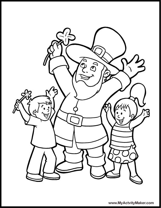 Dia de São Patricio para colorir - Saint Patricks day - Desenhos ...