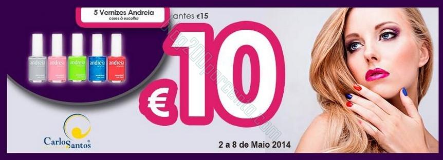 Promoção | CARLOS SANTOS HS | 2 a 8 de maio