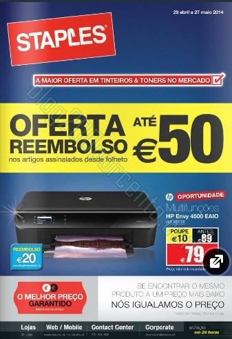 Novo folheto | STAPLES | de 29 abril a 27 maio - Print Solutions