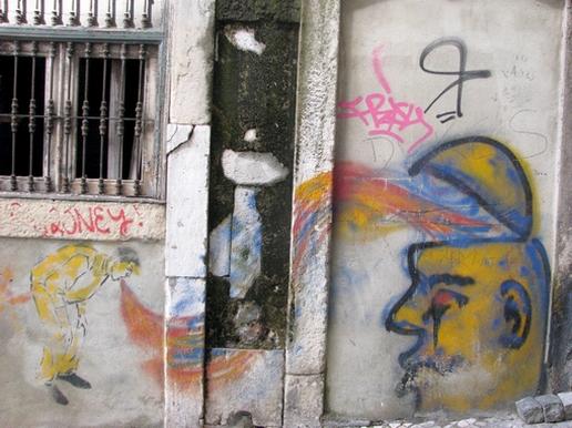 grafiti gregoriano