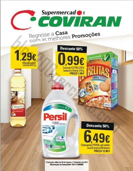 Novo Folheto COVIRAN promoções até 7 setembro