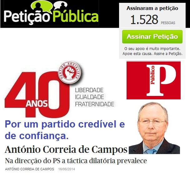 Correia de Campos, PS, Eleições directas ou primárias estatutos do partido socialista. Comissão Política Nacional do PS, José Seguro e António Costa