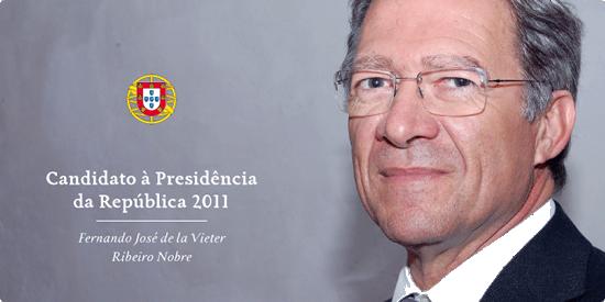 Fernando Nobre, Candidato à Presidência da República 2011