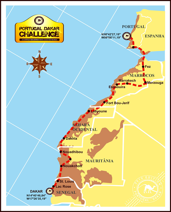 Rota do Portugal Dakar Challenge