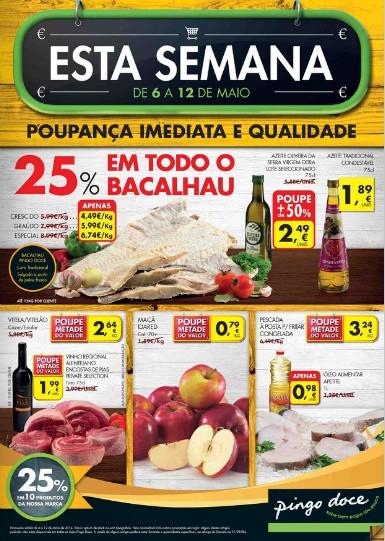 Folheto   PINGO DOCE   de 6 a 12 maio - Online - Esta Semana