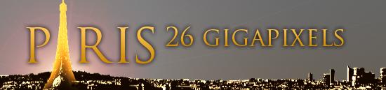 Paris 26 gigapixels