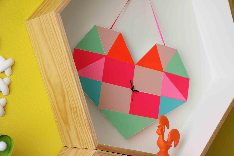 relogio-diy-coracao-origami