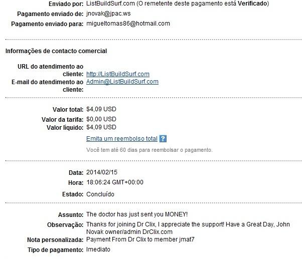 [Scam] DrClix -  PTC Recomendado pela Timtech (Nerdbux e Legacyclix) Total recebido: $8.01 16611960_cFoER