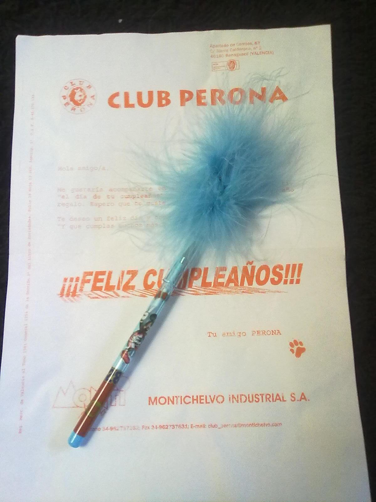 Amostras Club Perona - Caneta [Recebido]  16428915_YS8RW