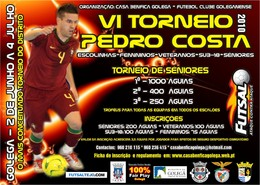 Cartaz VI Torneio Pedro Costa