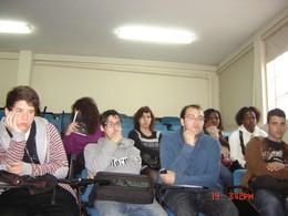 Alunos do Curso Profissional de Turismo assistem com entusiasmo