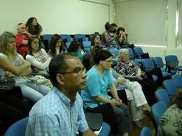 À esquerda, Dr. Mário Araújo, dinamizador do evento