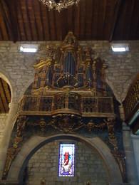 órgão de tubos, igreja matriz, chaves