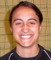 Inês Lopes, jogadora da ADCR Paço dos Negros