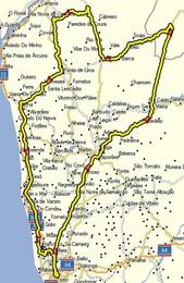 Mapa da Viagem