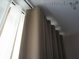 Cortinas em tectos falsos blog quartosala - Cortinados modernos ...
