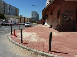 Obras nos espaços públicos dos Lóios