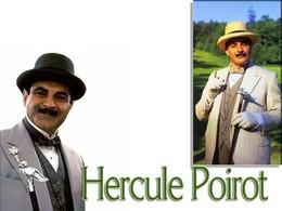 Hercule Poirot, famoso detective dos policiais de Agatha Christie