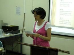 Drª Gracinda Correia, mentora do Concurso