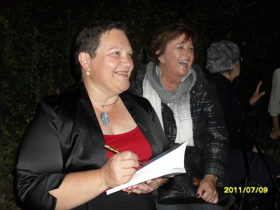 Rosa Silva e Ivone Medeiros na Cova da Serreta