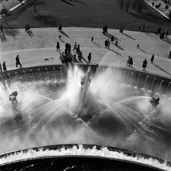 Fonte monumental, Alameda (H. Novaes, c. 1960)