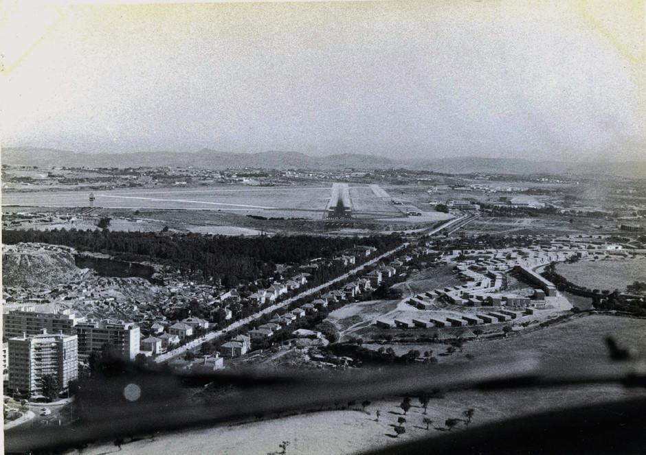 Vista aérea, Lisboa, 1968.  Cliché do C.te Amado da Cunha; colecção Sr. Ant.º Fernandes.