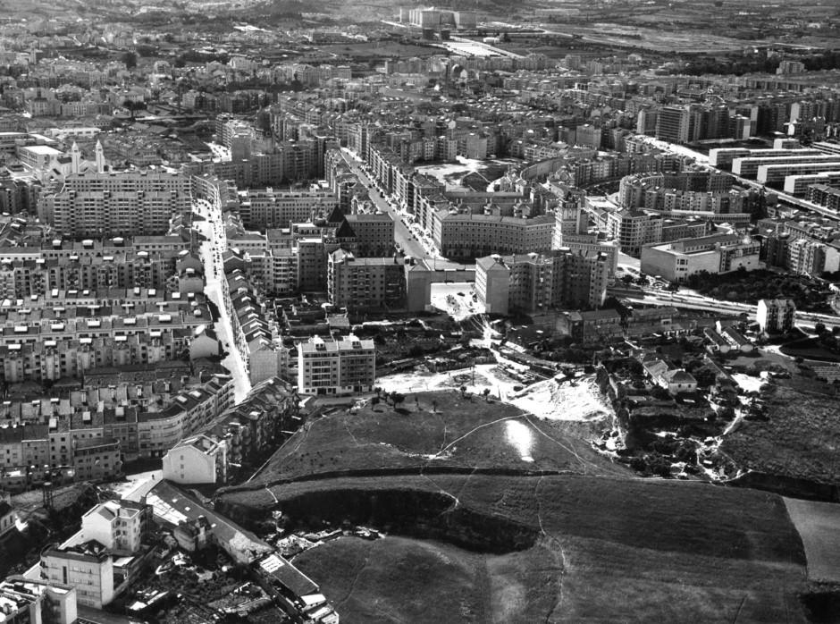 Areeiro e avenidas novíssimas, Lisboa (M. Oliveira, c. 1960)